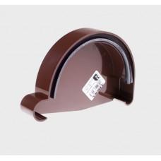 Водосток Profil для крыши/Заглушка желоба левая PROFIL
