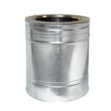 Труба дымоходная двухстенная нерж/оц 0,25 м с термоизоляцией