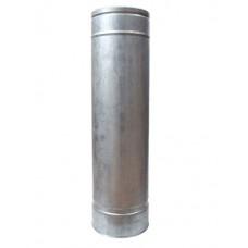 Труба дымоходная двухстенная нерж/оц 1 м с термоизоляцией