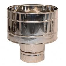 Волпер (дефлектор) дымоходный нерж.