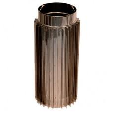 Труба-радиатор дымоходная 0,5 м нерж.